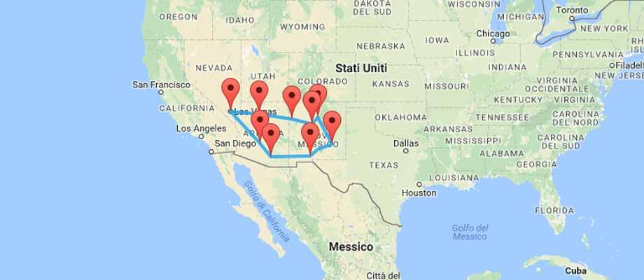 Viaggio Luoghi Ufo USA